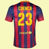 Maillot Du Foot Barcelone (Isaac Cuenca 23) 2015/16 Domicile Soldes Nice