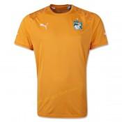 Maillot Du Foot Cote D'Ivoire 2014 Coupe Du Monde Domicile Fr
