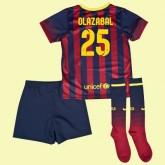 Maillot Du Foot Enfant Fc Barcelone (Olazábal 25) 2015/16 Domicile Nike Faire Une Remise