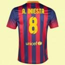 Maillot Du Foot Fc Barcelone (Andres Iniesta 8) 2014-2015 Domicile Nike Soldes Provence