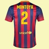 Maillot Du Foot Fc Barcelone (Martin Montoya 2) 2015/16 Domicile Soldes Marseille