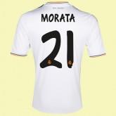 Maillot Du Foot Fc Real Madrid (Morata 21) 2014-2015 Domicile Adidas Magasin De Sortie