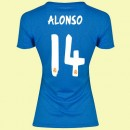 Maillot Du Foot Femme Real Madrid Fc (Alonso 14) 2015/16 Extérieur Adidas Prix France