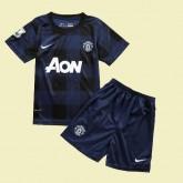 Maillot Du Foot Juniors Manchester United 2014-2015 Extérieur Avec Flocage Officiel #3126 Fr