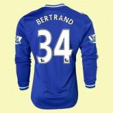 Maillot Du Foot Manches Longues Chelsea (Bertrand 34) 2014-2015 Domicile Adidas Collection