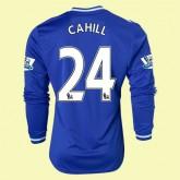 Maillot Du Foot Manches Longues Chelsea (Cahill 24) 2014 2015 Domicile Adidas En Ligne Soldes Marseille