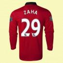 Maillot Du Foot Manches Longues Manchester United (Zaha 29) 2015/16 Domicile Nike Avec Flocage