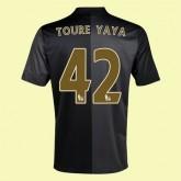 Maillot Du Foot Manchester City (Toure Yaya 42) 2014-2015 Extérieur Nike