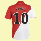 Maillot Du Foot Monaco (James 10) 2015/16 Domicile Moins Cher