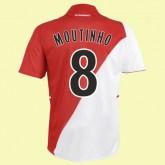 Maillot Du Foot Monaco (Moutinho 8) 2014-2015 Domicile
