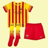 Maillot Enfant Fc Barcelone 2015/16 Extérieur Nike Floqué Magasin Lyon
