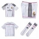 Maillot Enfant Kit Real Madrid 2014 2015 Domicile Shop France
