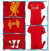 Maillot Enfant Kits Liverpool 2014 2015 Domicile Boutique France