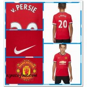 Maillot Enfant Kits Manchester United Van Persie 2014 2015 Domicile Collection