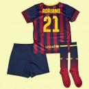 Maillot Enfants Barcelone (Adriano 21) 2014-2015 Domicile Nike Escompte