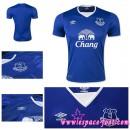 Maillot Everton 2015-2016 Domicile Soldes Nice