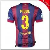 Maillot Fc Barcelone (Pique 3) 2014/15 Domicile Rabais En Ligne