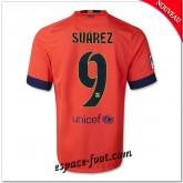 Maillot Fc Barcelone (Suarez 9) 2014-15 Extérieur Faire Une Remise