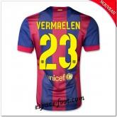 Maillot Fc Barcelone (Vermaelen 23) 2014 2015 Domicile Magasin Lyon