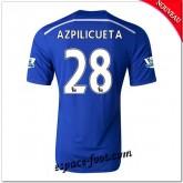 Maillot Fc Chelsea (Azpilicueta 28) 2014 2015 Domicile Pas Cher Provence