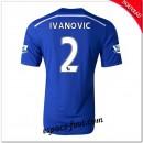 Maillot Fc Chelsea (Ivanovic 2) 2014-15 Domicile Soldes Cannes