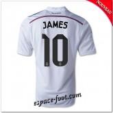 Maillot Fc Real Madrid (James 10) 2014 15 Domicile