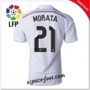 Maillot Fc Real Madrid (Morata 21) 2014 2015 Domicile