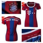 Maillot Femme Bayern Munich 2014-15 Domicile France