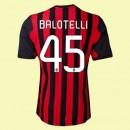 Maillot Foot Ac Milan (Balotelli 45) 2015/16 Domicile Adidas Soldes Soldes Avignon
