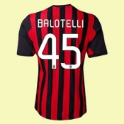 Maillot Foot Ac Milan (Balotelli 45) 2015/16 Domicile Adidas Soldes Soldes Avignon