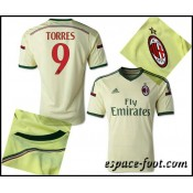 Maillot Foot Ac Milan Torres 2015 Race Third Faire Une Remise