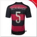 Maillot Foot Allemagne (Beckenbauer 5) 2014 2015 Extérieur