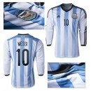 Maillot Foot Argentine Ml Messi 2014 2015 Domicile