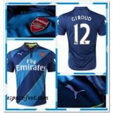 Maillot Foot Arsenal Giroud 2014 2015 Third