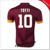 Maillot Foot As Roma (Totti 10) 2014 15 Domicile Code Promo