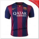 Maillot Foot Barcelone Fc Domicile 2014 2015 Paris