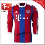 Maillot Foot Bayern Munich Domicile 2014 2015 Manche Longue Site Officiel