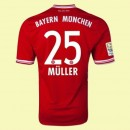 Maillot Foot Bayern Munich (Muller 25) 2014-2015 Domicile Adidas Boutique Paris
