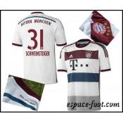 Maillot Foot Bayern Munich Schweinsteiger 2015 Race Extérieur Vente Privee