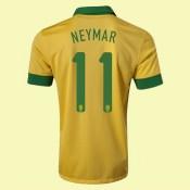 Maillot Foot Brésil (Neymar 11) 2015/16 Domicile Nike Soldes France