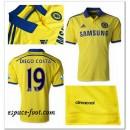 Maillot Foot Chelsea Diego Costa 2014/15 Extérieur Escompte