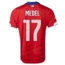 Maillot Foot Chili 2014 Coupe Du Monde Medel Domicile Vente Privee