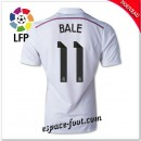 Maillot Foot Fc Real Madrid (Bale 11) 2014 15 Domicile