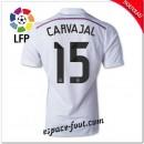 Maillot Foot Fc Real Madrid (Carvajal 15) 2014 2015 Domicile