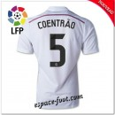 Maillot Foot Fc Real Madrid (Coentrao 5) 2014-15 Domicile