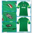 Maillot Foot Green Juventus Gardien 2014 15 Domicile Livraison Gratuite