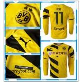Maillot Foot Manche Longue Dortmund Reus 2014 2015 Domicile Soldes