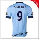 Maillot Foot Manchester City (A.Negredo 9) 2014 15 Domicile