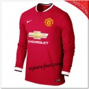Maillot Foot Manchester United Domicile 2014 2015 Manche Longue