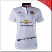 Maillot Foot Manchester United Extérieur 2014 15 Femme Fashion
